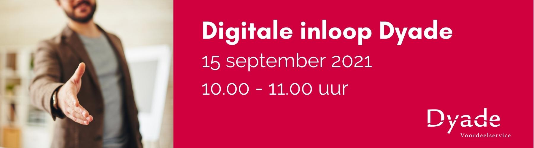 Digitale inloop september